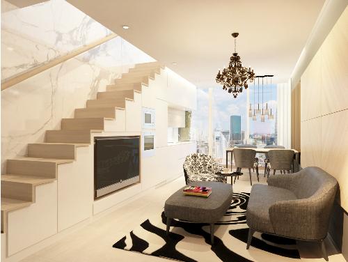Tiềm năng lớn từ căn hộ Loft – Penthouse tại trung tâm quận 1
