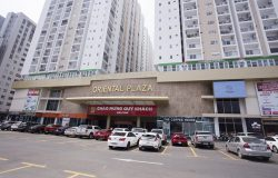 Nhiều căn hộ Oriental Plaza đã bàn giao