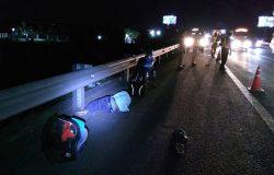 Chạy xe máy vào cao tốc TP.HCM – Trung Lương, nam thanh niên nguy kịch