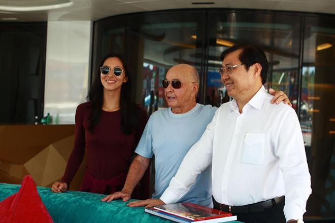 Tỷ phú Anh Joe Lewis muốn xây dựng bến du thuyền hiện đại ở Đà Nẵng