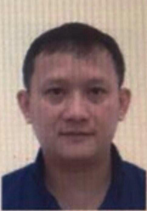 Bị can Bùi Quang Huy, Tổng Giám đốc Công ty Nhật Cường. Ảnh: Bộ Công an