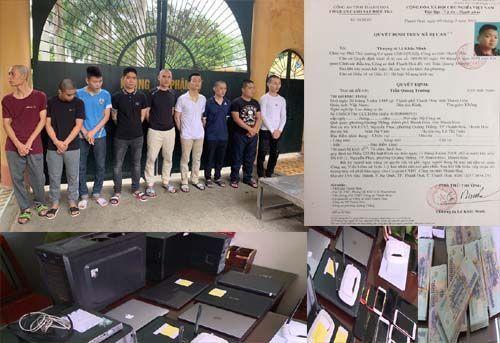 Triệt phá đường dây đánh bạc qua mạng gần 4.000 tỷ đồng tại Thanh Hóa