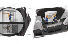 Cả trung tâm thương mại sầm uất sẽ được chứa bên trong máy bay thế hệ mới
