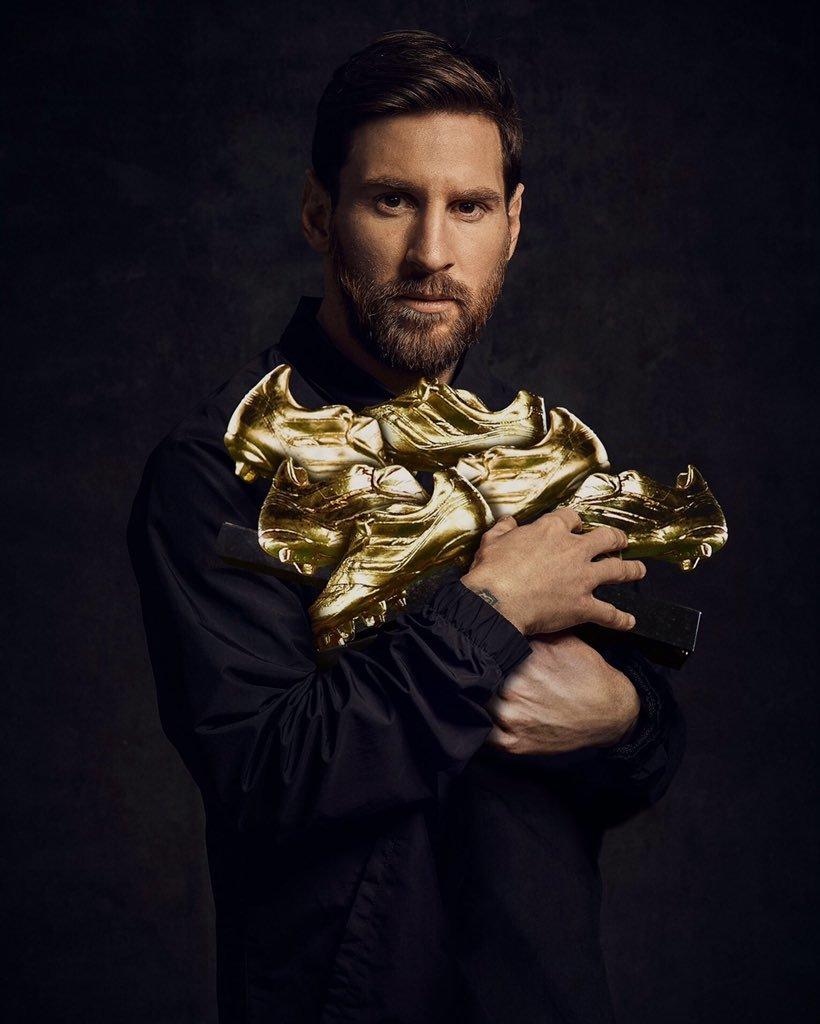 Danh hiệu Chiếc giày vàng 2018 - 2019 thuộc về Lionel Messi, kỷ lục vô tiền khoáng hậu