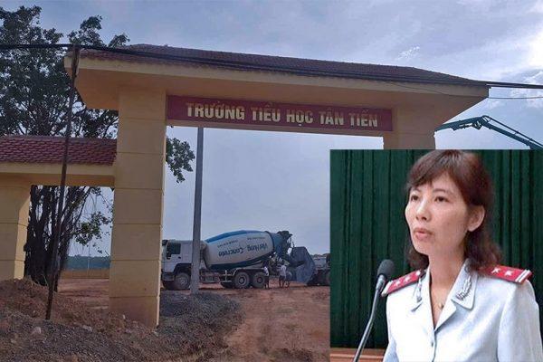 Công an tỉnh Vĩnh Phúc đã ra quyết định khởi tố bà Kim Anh và 2 thanh tra Bộ Xây dựng về hành vi nhận hối lộ
