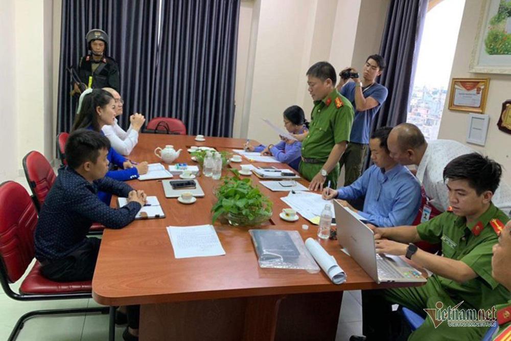 Bao vây trụ sở công ty địa ốc Alibaba bắt Chủ tịch HĐQT Nguyễn Thái Luyện