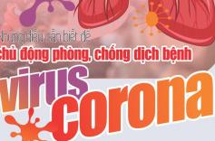 Cẩm nang 10 câu hỏi đáp để chủ động phòng chống dịch bệnh viêm đường hô hấp cấp do virus Corona mới