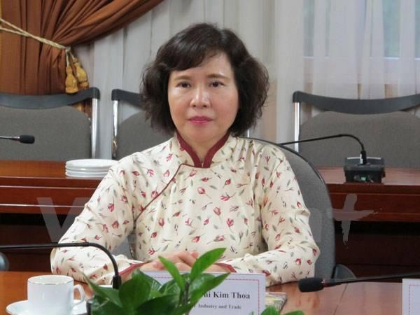 Bộ Công an truy nã bà Hồ Thị Kim Thoa cựu Thứ trưởng Bộ Công Thương