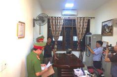 Khám xét phòng làm việc của Quyền Trưởng phòng Chính sách thuộc Ban Dân tộc