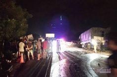 Một phút trước khi xảy ra tai nạn xe khách giảm từ 80km/h xuống 69km/h