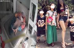 40 Clip camera người phụ nữ bán khỏa thân vô tư cho các con sờ mó vùng kín
