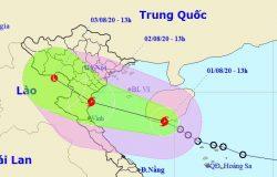 Bão số 2 hình thành trên Biển Đông, có mưa lớn ở nhiều nơi
