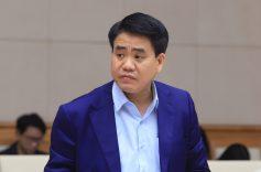 Bộ Chính trị đình chỉ chức Phó Bí thư Thành ủy Hà Nội đối với ông Nguyễn Đức Chung