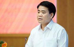 Ông Nguyễn Đức Chung bị tạm đình chỉ công tác do có trách nhiệm liên quan tới những vụ án nào