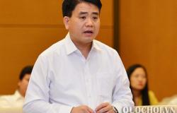Tạm đình chỉ công tác đối với Chủ tịch UBND TP Hà Nội Nguyễn Đức Chung