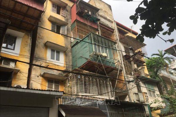 Gỡ khó cải tạo chung cư cũ từ chính sách